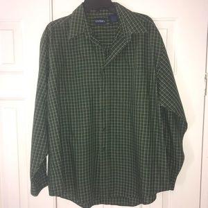 EUC Puritan Long Sleeve Button Down Shirt Size L